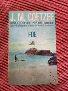 Novel by J.M. Coetzee