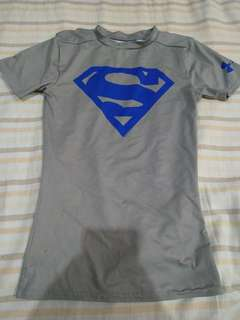 Superman UnderArmour Swimshirt