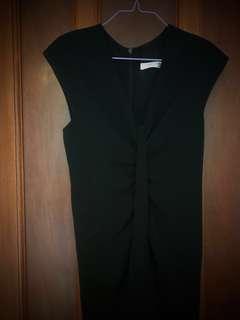 Carla Zampatti long black dress (size AU4-6) - near new (only worn once)