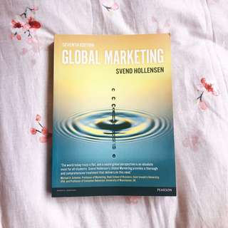 Global Marketing (7th Ed.)