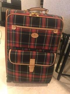 Scottish House Cheque Hand Carry Luggage