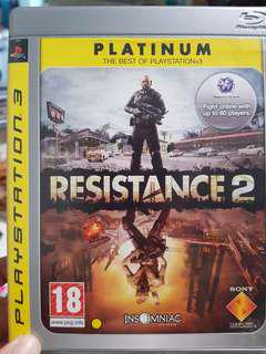 Resistance 2 - Playstation 3 games