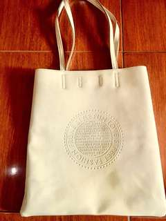 Tote bag dirty white