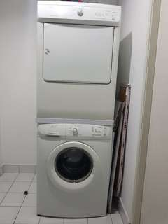 Electrolux heavy duty washer and dryer bundle