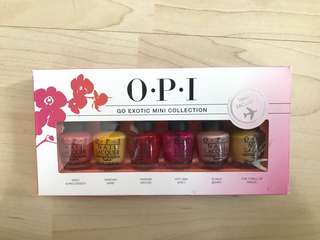 🚚 OPI Go Exotic Mini Collection