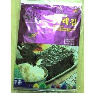 🚚 促💥(現貨)5大包150g韓國帶回原味麻油海苔