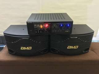 BMB Karaoke System with Microphone