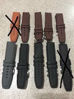 Cow Leather Watch Strap 24MM