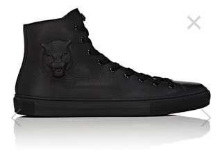 Gucci Black Major Tiger High-Top Sneakers US8
