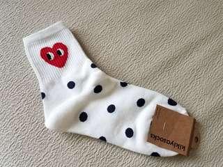 韓國製 襪 23-25cm