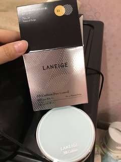 Laneige BB cushion come with refill package
