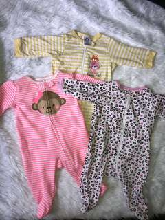 Frogsuits 0-3mos