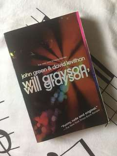 Will Grayson book