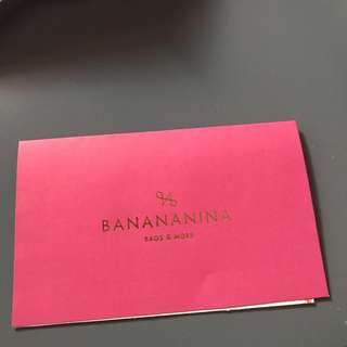 Shopping Voucher BANANANINA