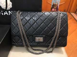 CHANEL 2.55 Reissue black colour
