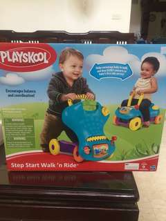 Playskool walk n ride