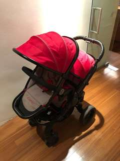 iCandy peach 3 TWIN stroller