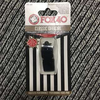 New! Sports Whistle. Fox 40 classic official