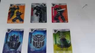 Transformers Card
