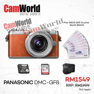 PANASONIC DMC-GF8
