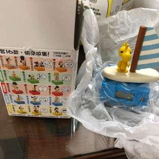 台灣7-11 SNOOPY & FRIENDS木頭立體公仔時鐘功能