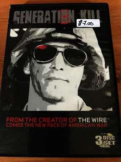 Generation Kill 3 disc set