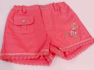 🚚 1-164C 童裝 小女生粉紅短褲