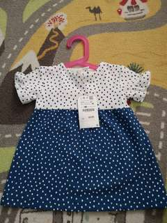 Zara ploka dot dress