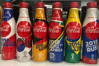 Coca Cola World Cup Bottle 2018