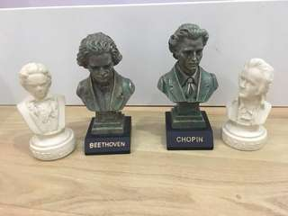 Music Composer's Figurines (RM15 each)