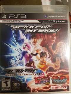PS3 Game - Tekken Hybrid
