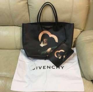 清貨📣Givenchy黑色大袋連化妝袋1 set (不議價) 只用了1次