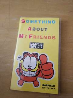 Garfield addressbook