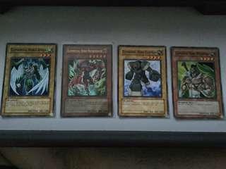 Yu-Gi-Oh Elemental Heroes Cards (English Edition)