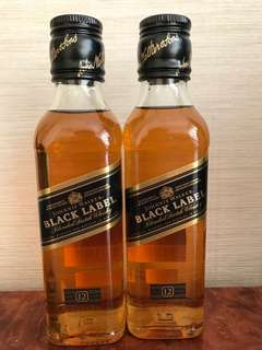 Whisky Johnnie Walker Black Label 20cl