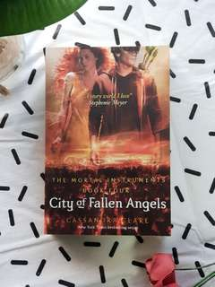 City of Fallen Angels Cassandra Clare