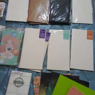 Notebooks, midori inserts and more