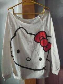 Atasan dan sweater hello kitty