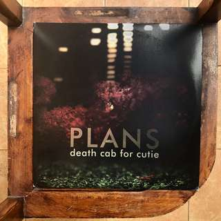 "Death Cab for Cutie - Plans (2005) 12"" Vinyl LP"