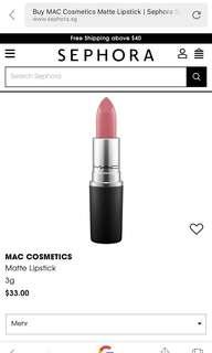 MAC lipstick 💄 Mehr
