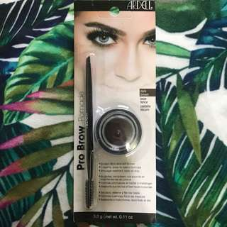 Ardell Pro Brow Pomade set in Dark Brown