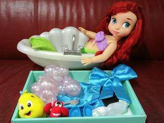 迪士尼 公主 美人魚 小魚仙 Ariel 艾莉奧 公仔 figure
