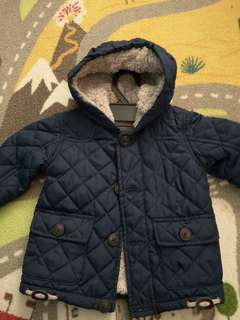 George's winter coat