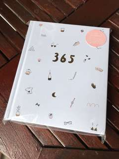 Kikki K 365 journal notebook