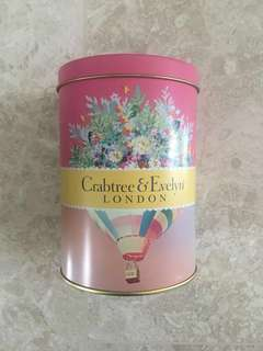 BN Crabtree & Evelyn Travel Bath Gift Set in a Tin