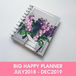 🚚 The Big Happy Planner® Happiness Blooms - July 2018 till Dec 2019