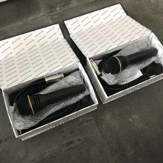 Brand new Professional microphones