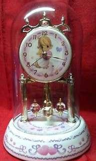 Precious Moments Globe Clock