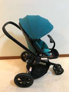 Quinny Stroller Moodd (Green Courage)