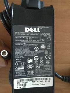 DELL AC Power Adapter Model LA65NS1-00 19.5V